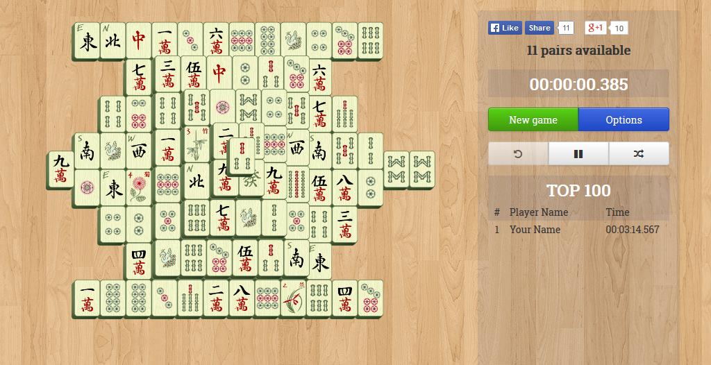 Mahjong Slider